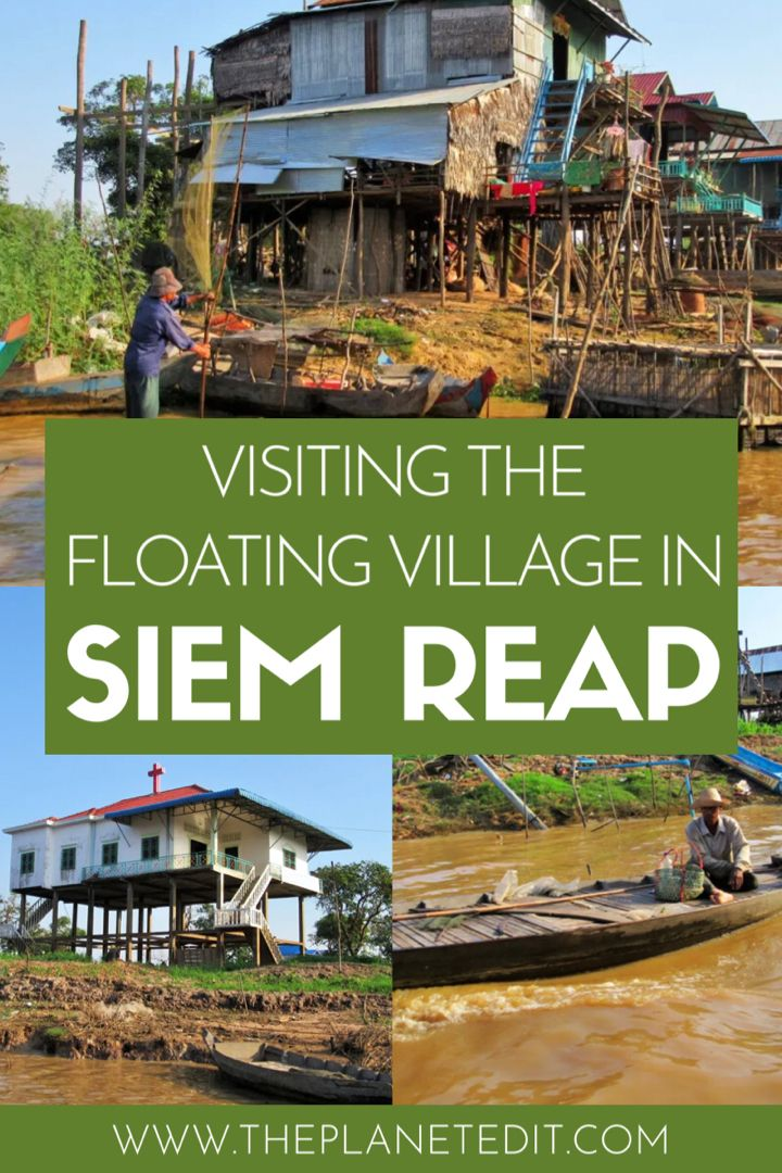 A lot of people seem to visit Siem Reap purely to see Angkor Wat. Don't get me wrong, Angkor Wat is an impressive site, but I feel like there is so much more to this area than just temples. For example, there's the floating village Kampong Phluk where locals live in stilted houses on the river. #siemreap #cambodia #asia #southeastasia   Things to do in Siem Reap   Visit Kampong Phluk   Cambodia Travel   Southeastasia Travel