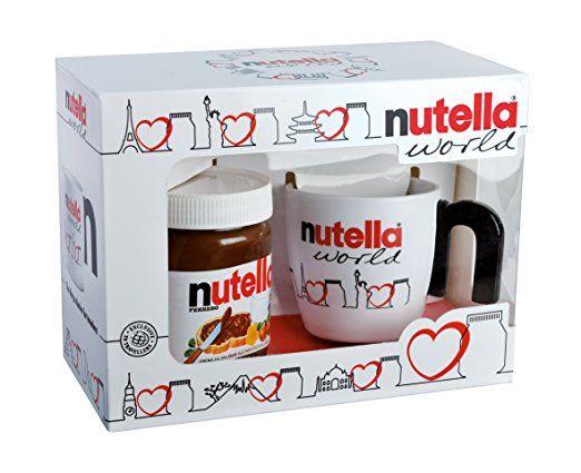 Klassische Weihnachtsgeschenke.Tolle Geschenk Idee Nutella Geschenkpackung Mit Becher 350g Die