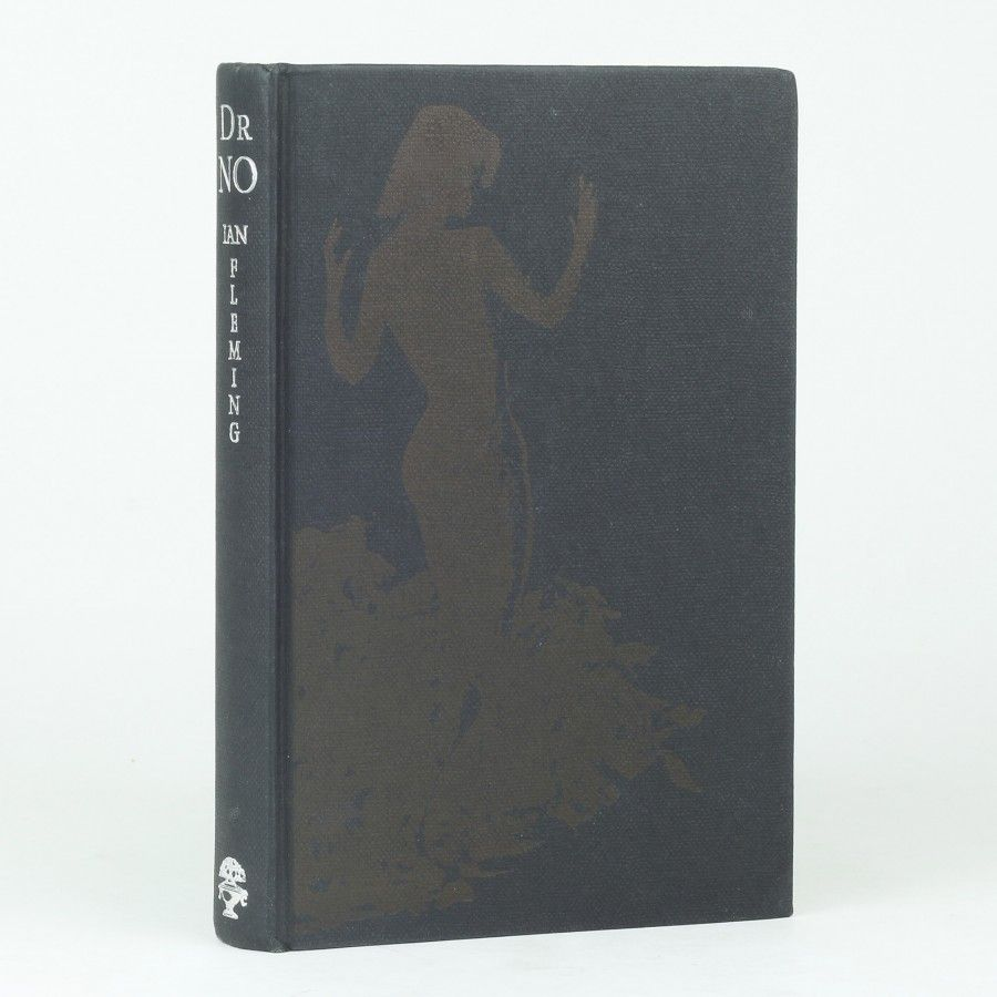 Ian Fleming, Dr. NO, First Edition With Silhouette Of