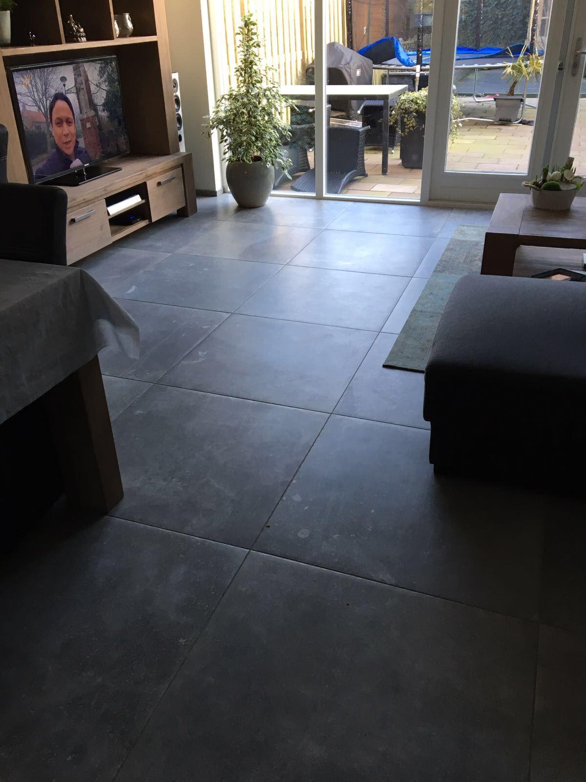 Hardsteen look plavuizen Kronos Gent 80x80 cm | Kronos tegels ...