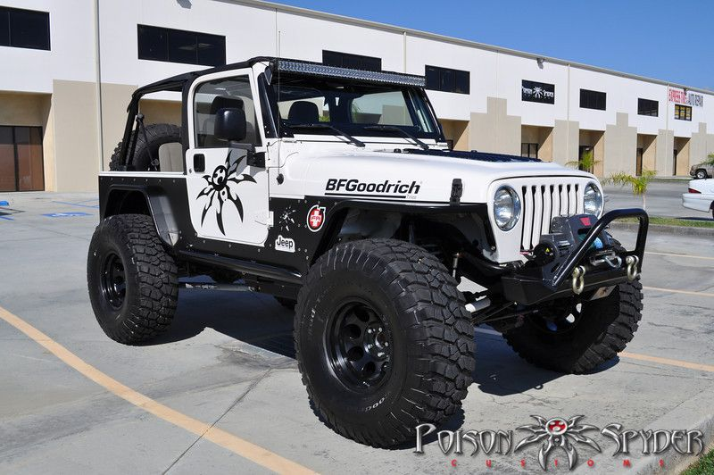Genright Tj Highline Fenders Jeep Tj Jeep Bumpers Dream Cars Jeep