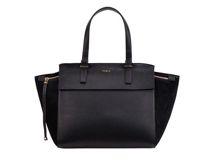 Furlaetiquette leather bag De Nouveaux Styles En Ligne K6dL6w1
