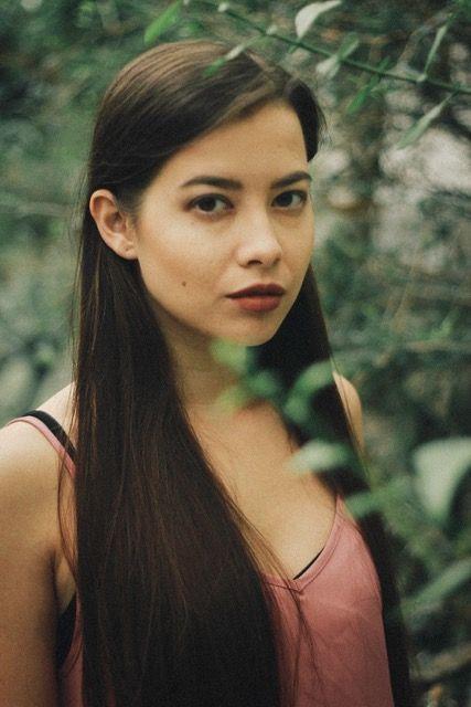 Asian european girl