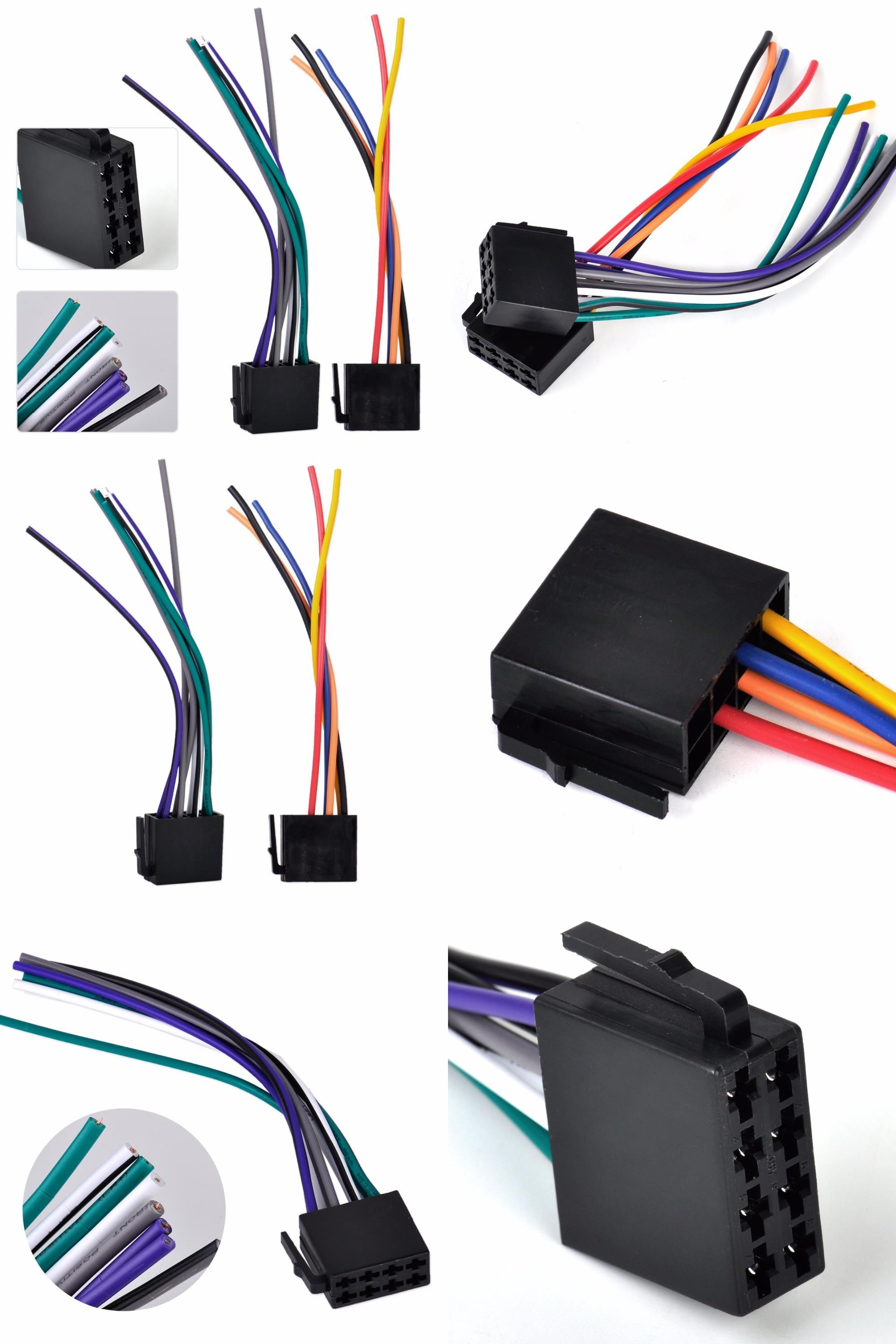 ac00bb6b251465f58005a5497ae8ab74 visit to buy] new universal iso wire harness female adapter car audio wiring harness kits at webbmarketing.co