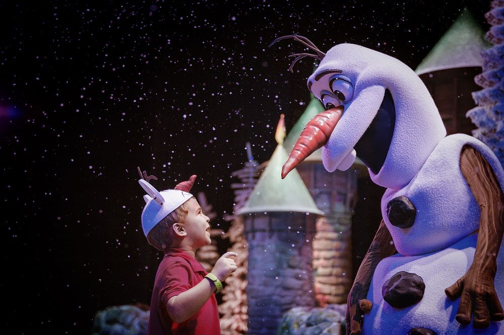 Meet OIaf at Disney's Hollywood Studios