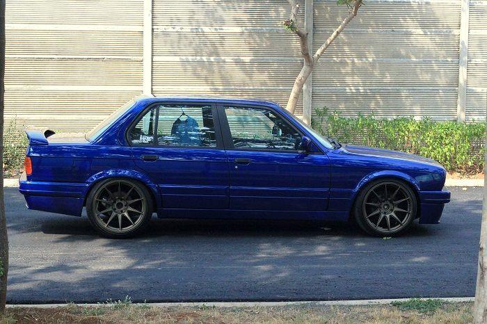 E30 Lackfarben Lemans Blau
