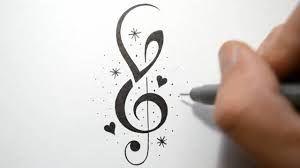 Image Result For Alphabet V Tattoo Designs For Girls Music Notes Tattoo Note Tattoo Music Tattoos