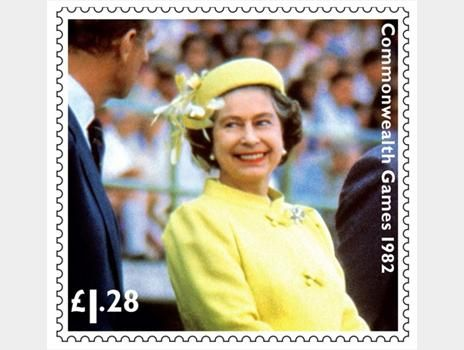 Diamond jubilee stamps designed by Kate Stephens