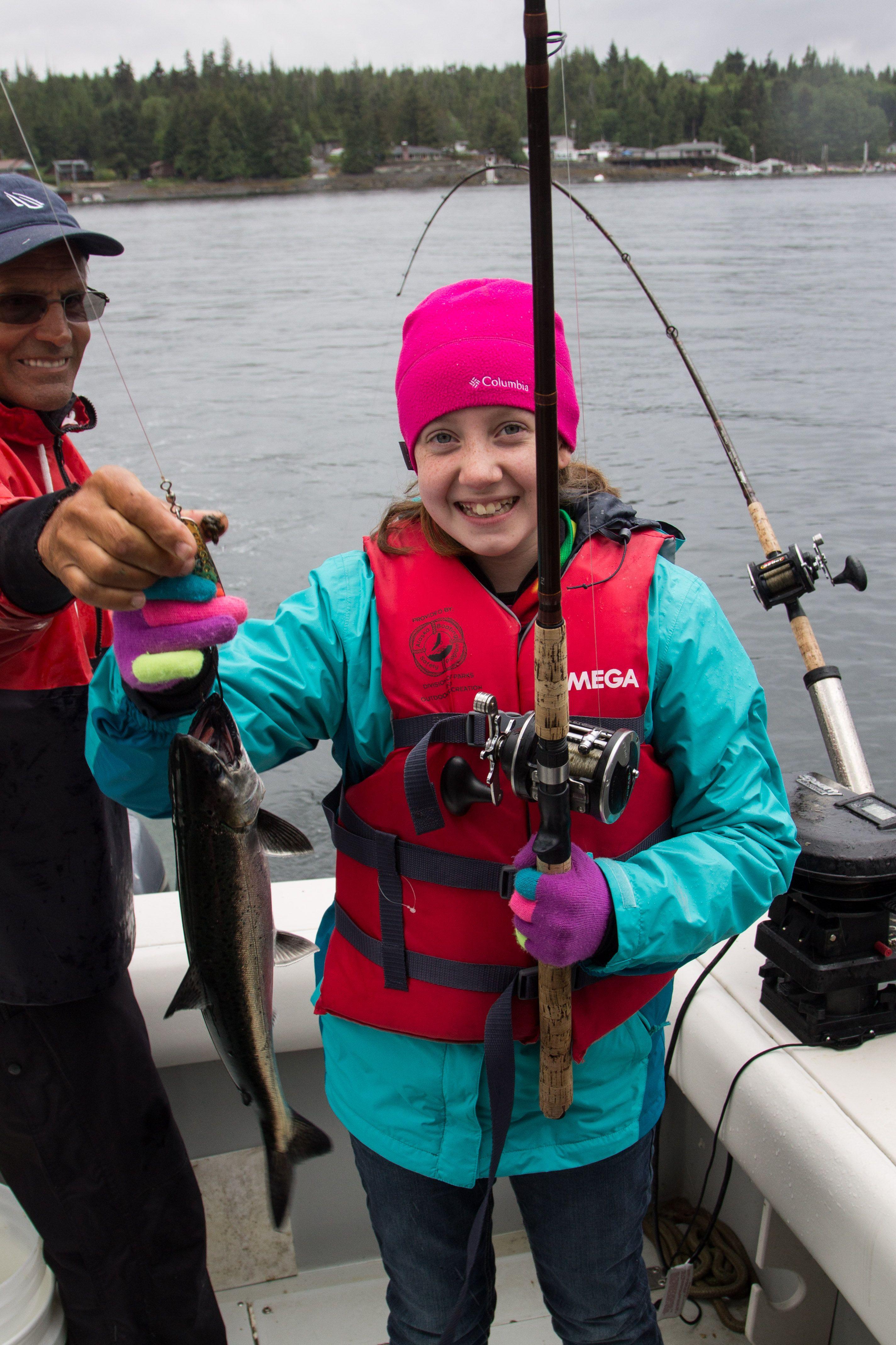 Alaska Cruise Disney Wonder Knudson Cove Salmon Fishing