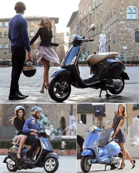 Piaggio Vespa 2014 - I want to learn how to ride a bike and buy a Vespa...