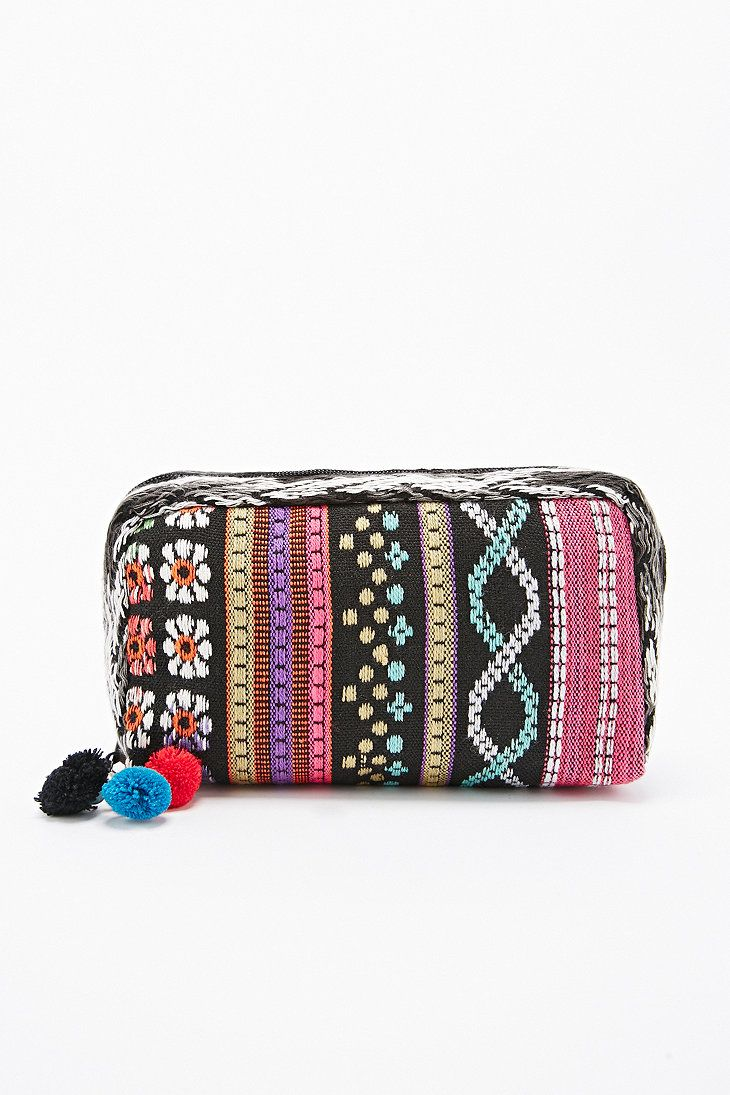 Tapestry Cosmetic Case Urban Outfitters Printed bags
