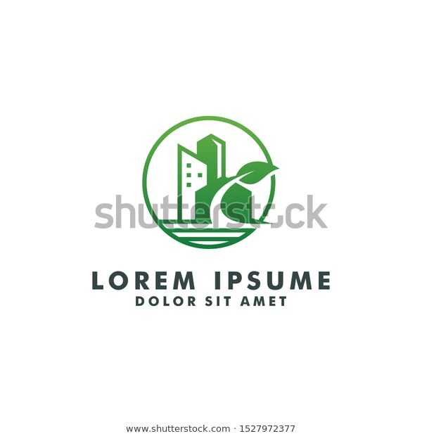 finance graphic finance graphic Nature Real Estate Logo Building Constuction Stock Vector Royalty Free 1527972377