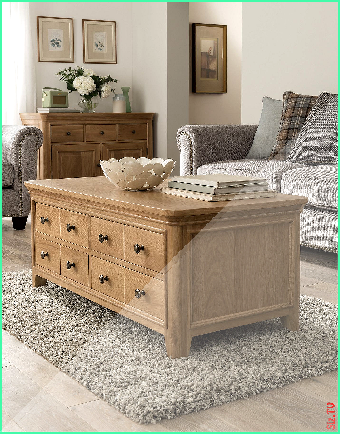 Carmen Solid Oak Coffee Table With Drawers Carmen Solid Oak Coffee Table With Drawer Solid Oak Coffee Table Oak Furniture Living Room Coffee Table With Drawers [ 1828 x 1431 Pixel ]