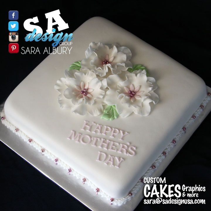 Sheet Cake Design Sleek Simple For Mother S Day Cake Designs
