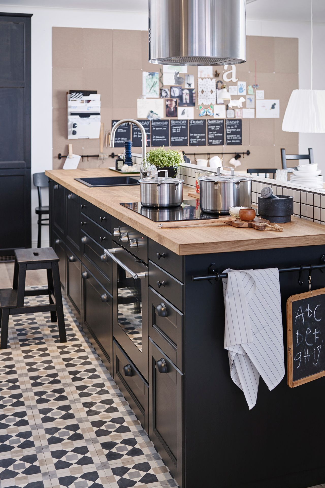 Space to cook, chop, mix, and serve.Featured Products LAXARBY KARLBY ...