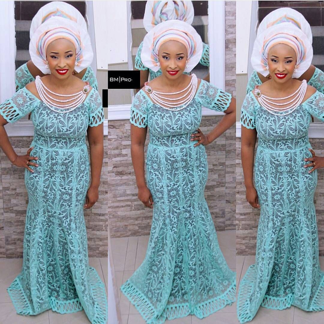 From lace to chiffon to colors, this season\'s Aso-Ebi outfits ...