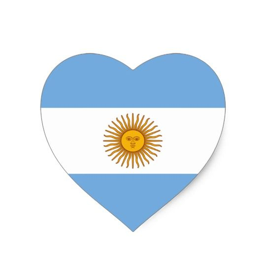 Argentina Country Flag Car Bumper Decal Sticker