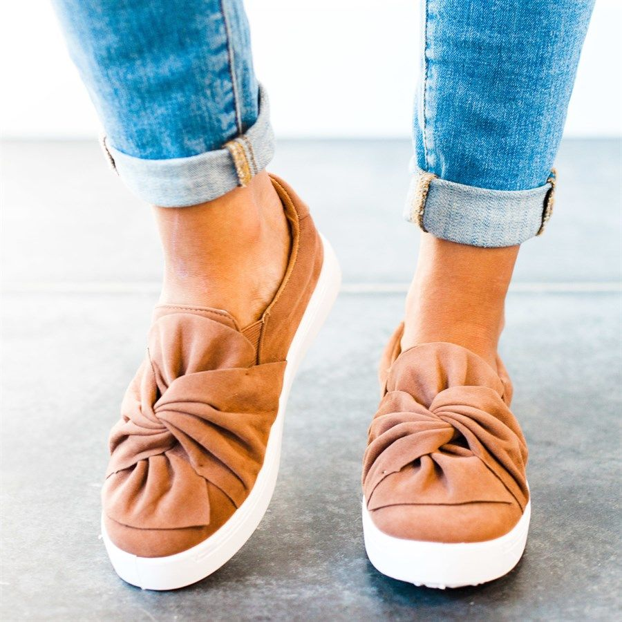Bow Top Sneakers   2 Colors!   Bow