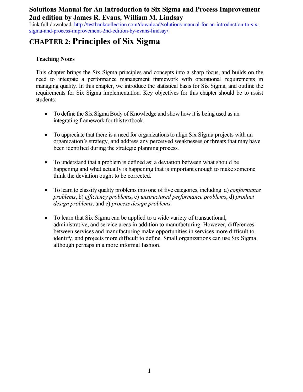 solutions manual for an introduction to six sigma and process rh pinterest com Sharp ManualsOnline Sharp View Cam Cameras