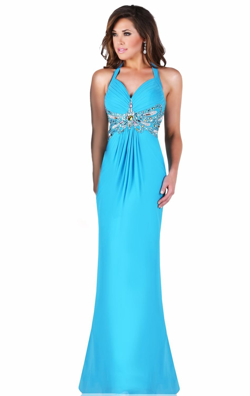 Teal halter gown by Karishma is available in a size 14.   Mardi Gras ...