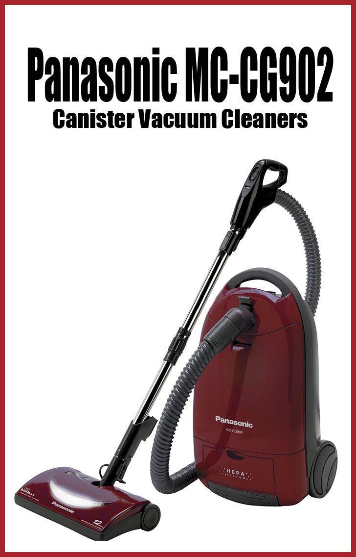 Panasonic MC-CG902 Canister Vacuum Cleaners