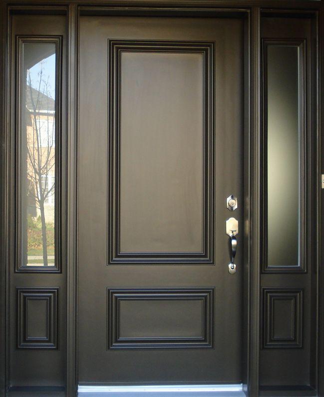 Vinyl Window Pro S Collection Of Steel Entry Doors Is Absolutely Second To None Our Steel Entranc Fiberglass Exterior Doors Front Door Design Front Door Decal