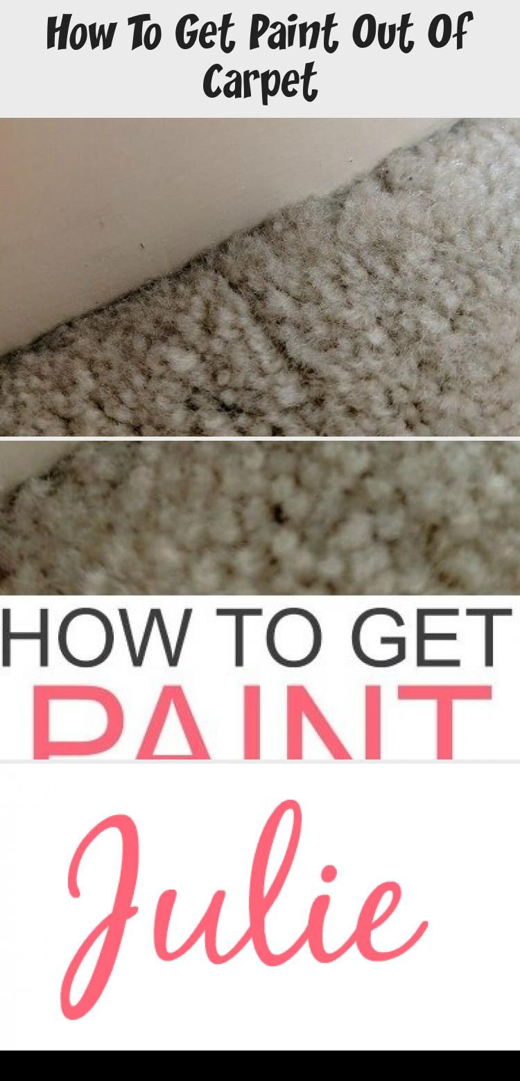 How To Get Paint Out Of Carpet In 2020 Homemade Carpet Stain