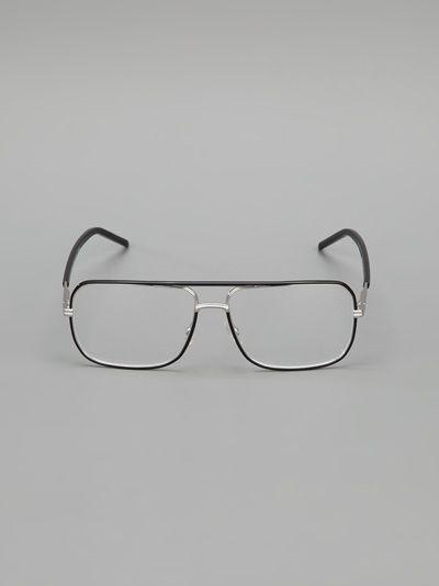 a44dfcda5e7 DIOR HOMME - square frame glasses