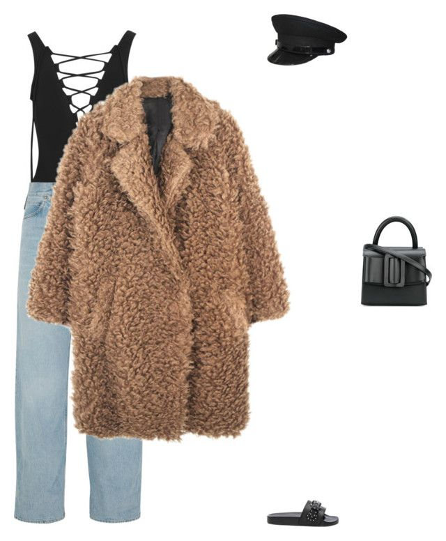 """""""Untitled #616"""" by da-rk-en-ed ❤ liked on Polyvore featuring Karla Colletto, Golden Goose, Givenchy and Boyy"""