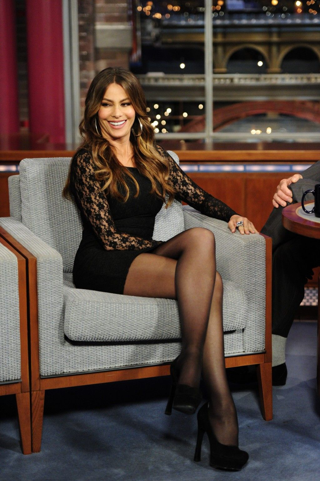 Celebrity Crossed Legs in Short Stylish Outfits and High ...