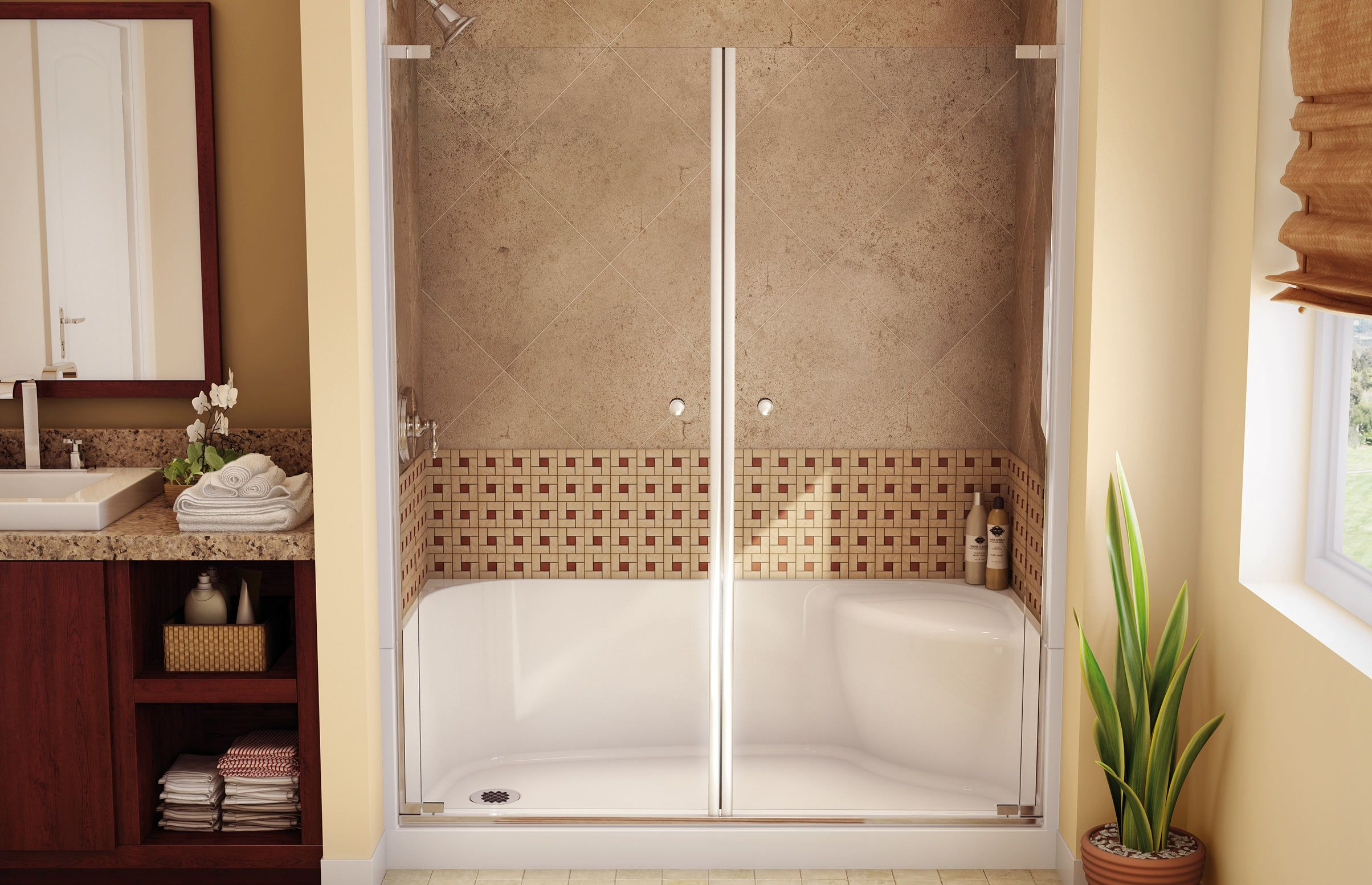 Image result for Maax 102002 48x34 acrylic white shower pan ...