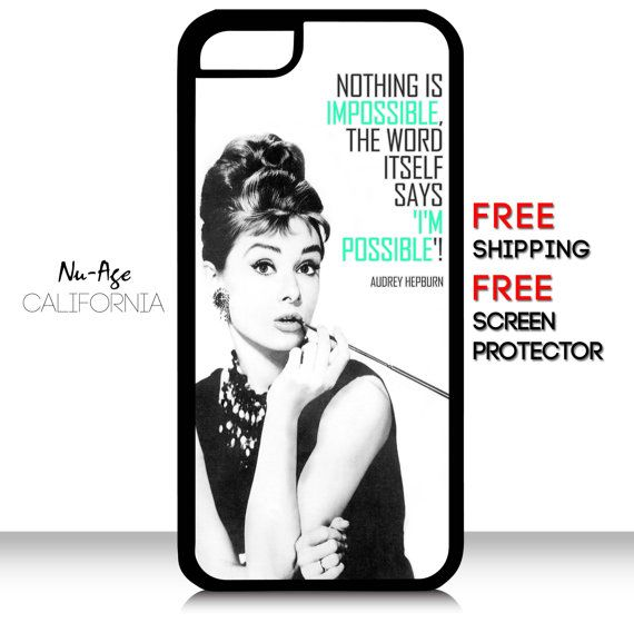 Hollywood Regency Inspirational Audrey Hepburn by NuAgeProducts, $13.99