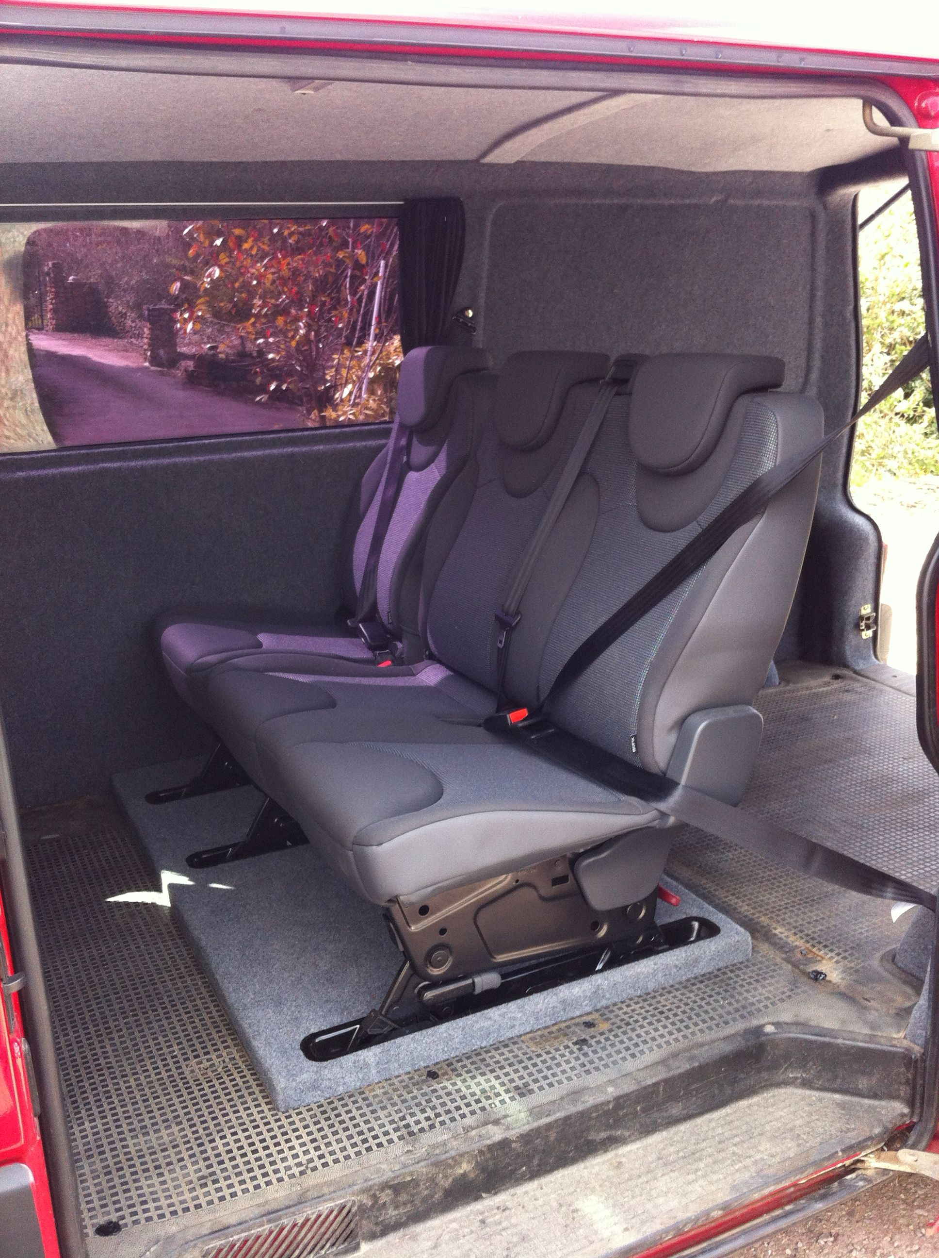Van Rear Seat Conversions Devon Van Conversion VW T4 And T5