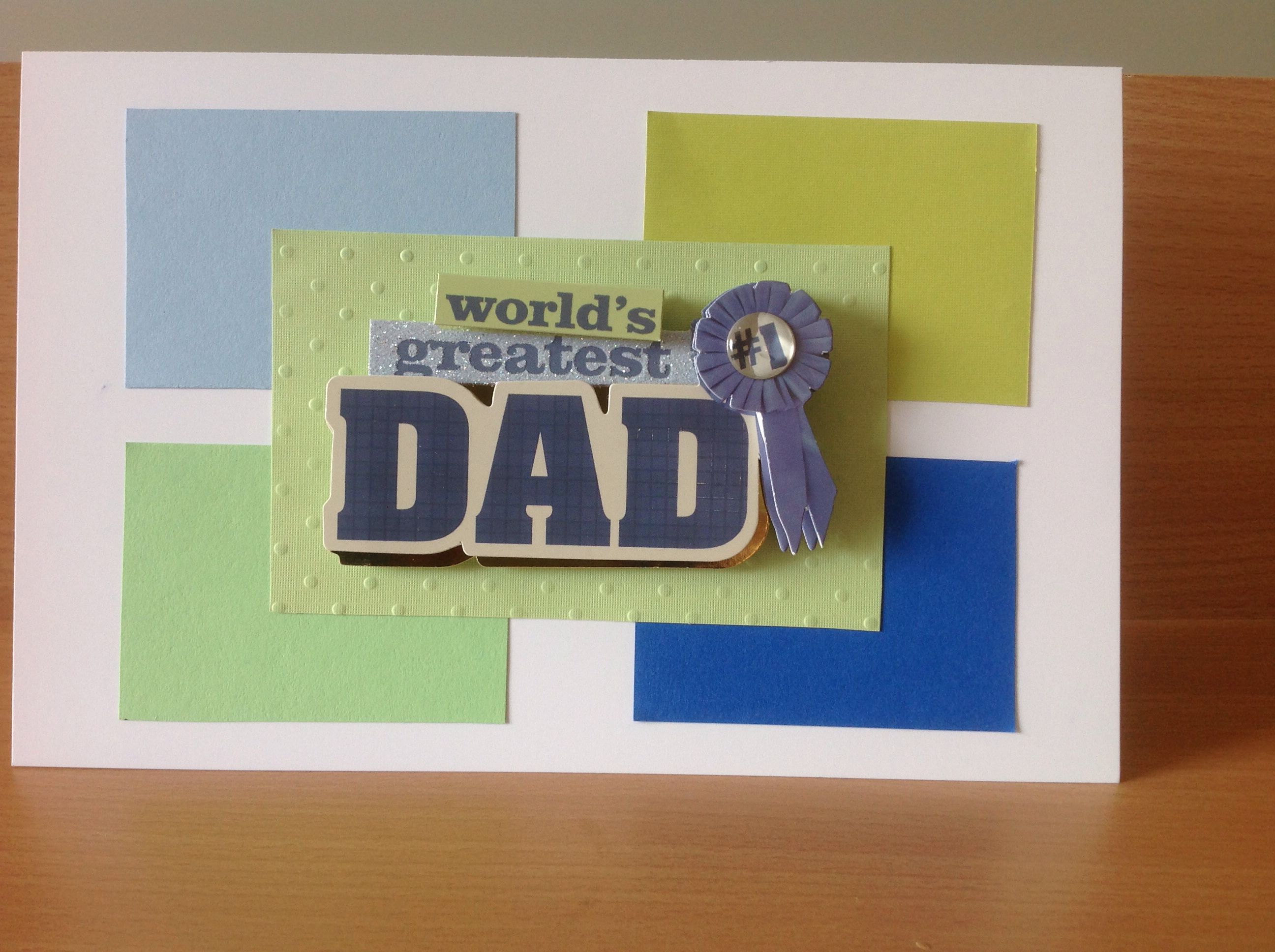 Father's Day card I made for my dad