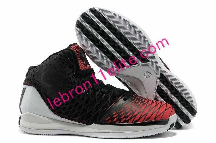 release date 9848a e7efb ... Buy University Red Adidas Adizero Rose 3,Derrick Rose Shoes 2013 Triple  Black White G48836 ...