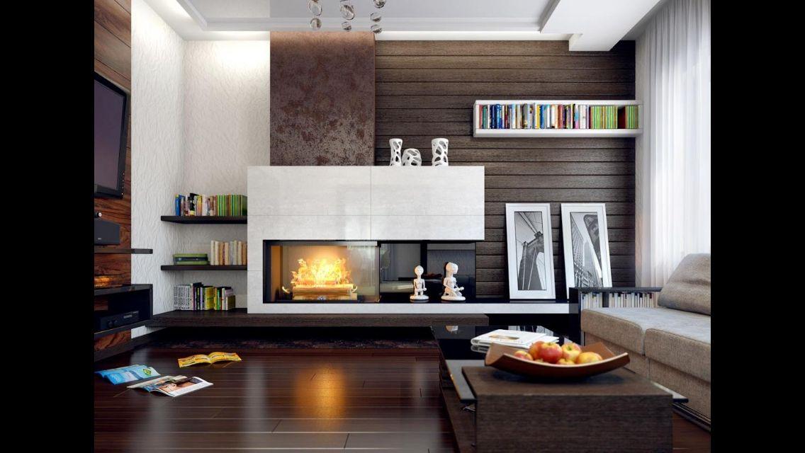 Cheminée et salon en 2019 | Décoration salon design ...