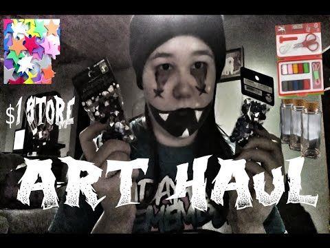 TheZombiePunk - YouTube Art Haul