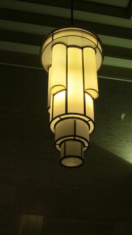 Delfin House, Sydney Australia Lovely 1930s lamp.