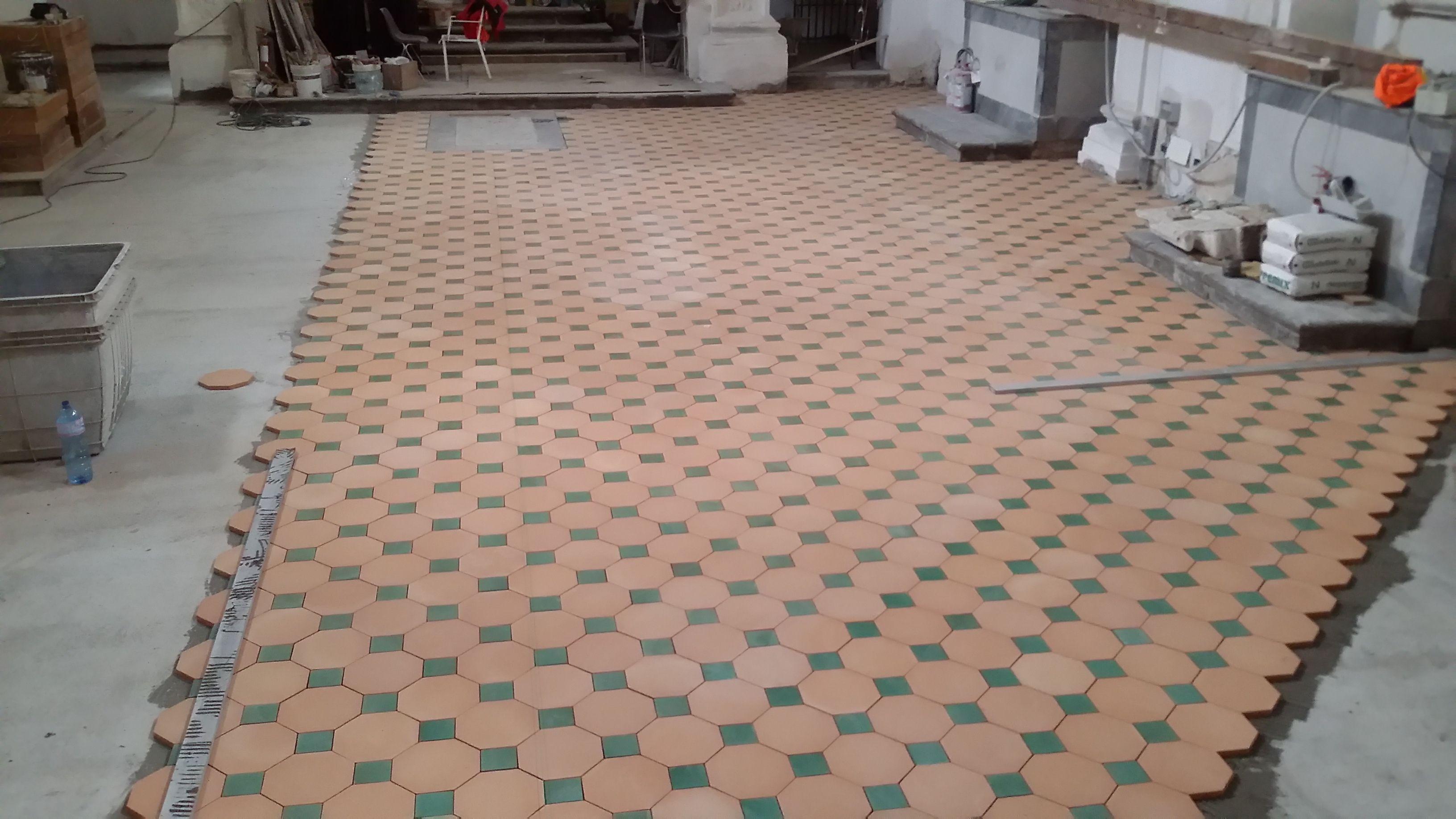 Pavimento in cotto siciliano comed ceramiche flooring cotto
