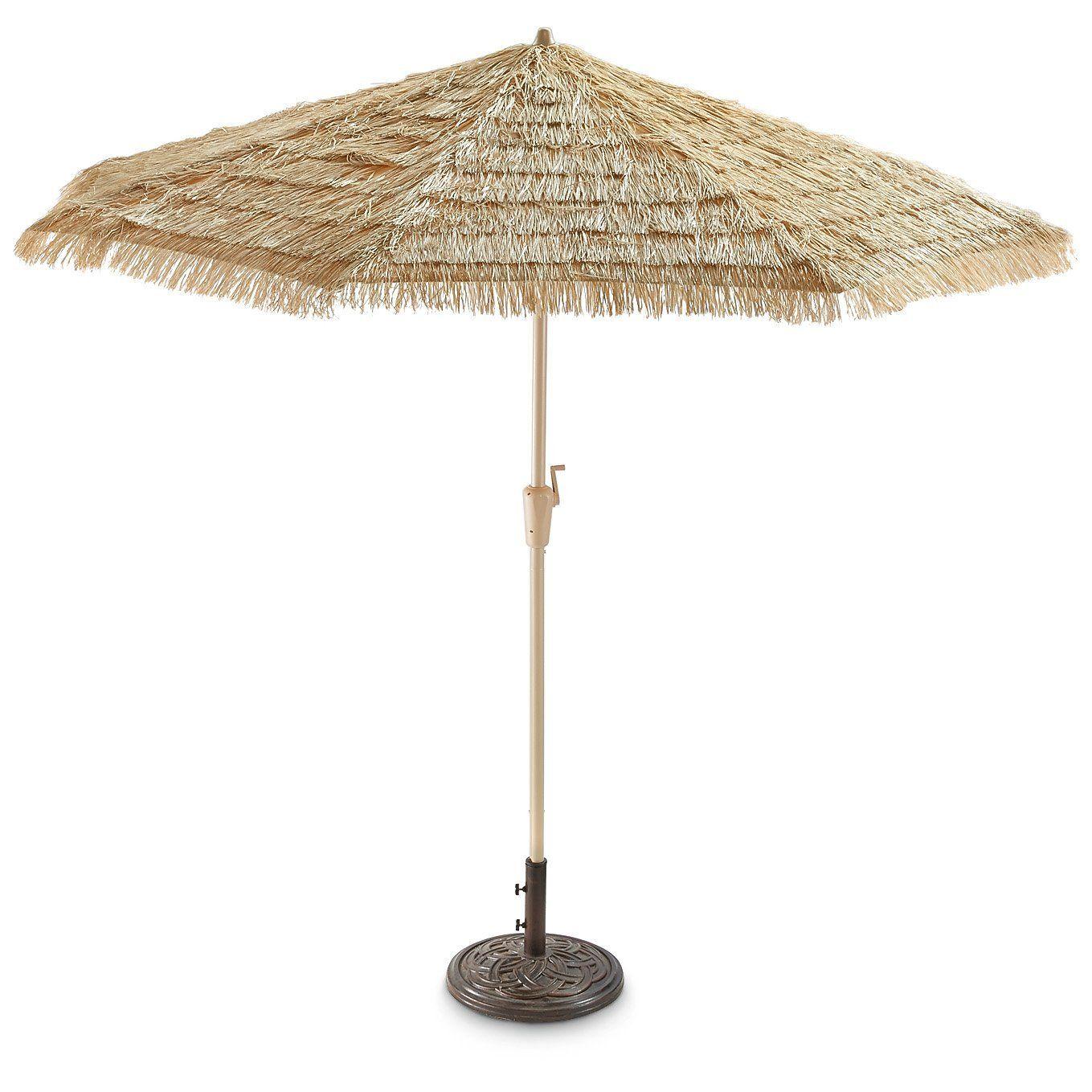 Thatched Tiki Umbrella Patio Lawn Garden