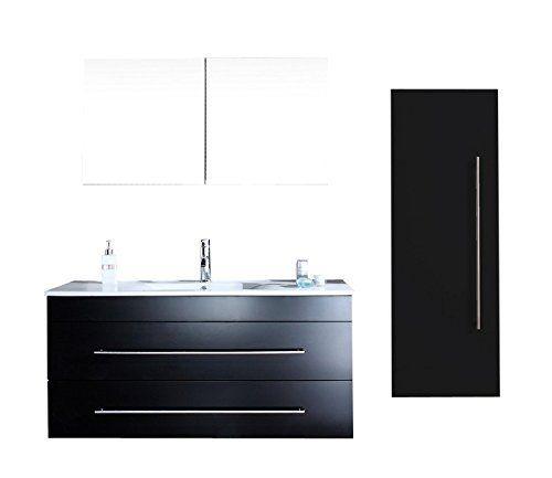 L ensemble super conomique versus noir satin price 719 for Salle de bain economique