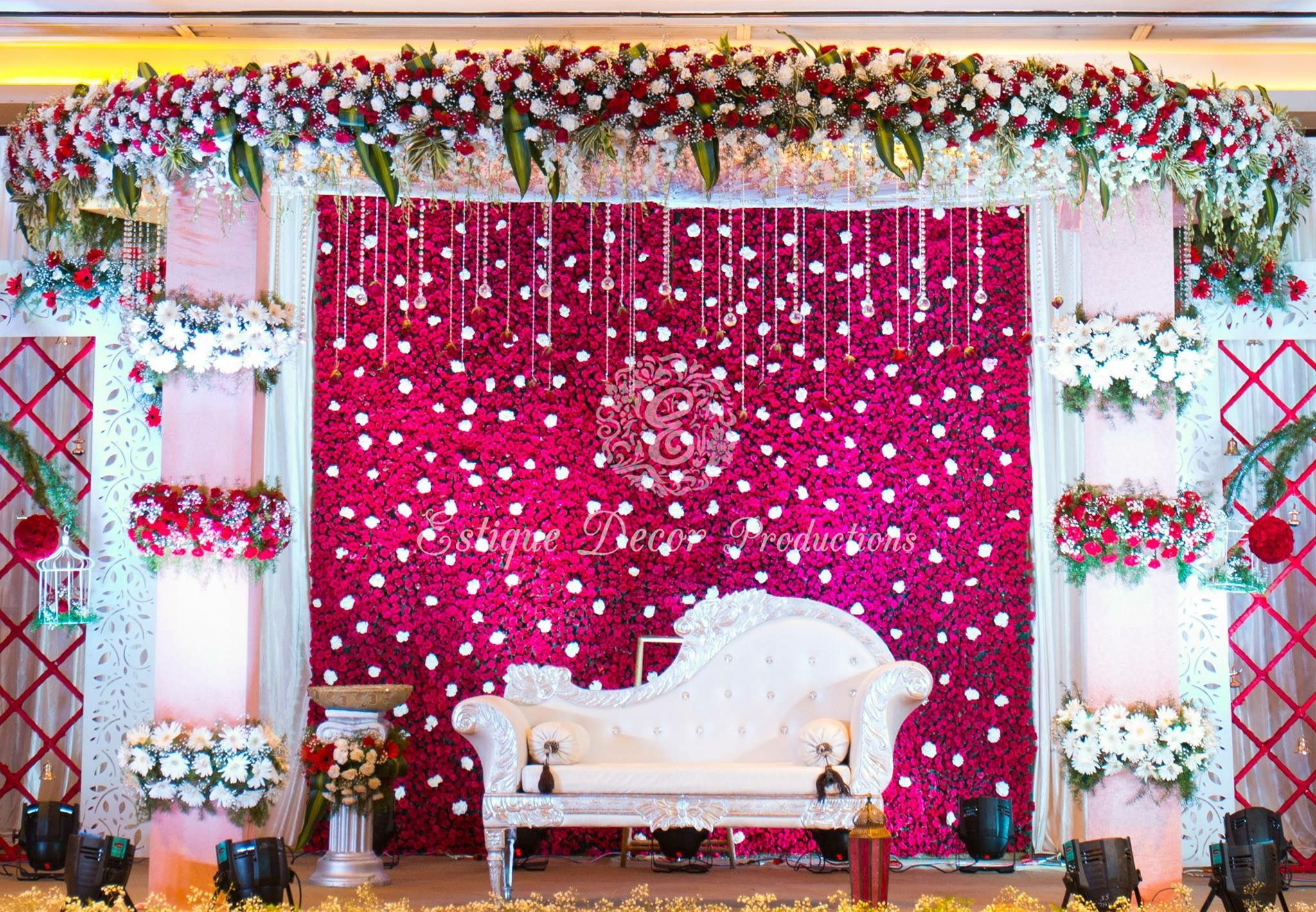 Decorations By Bhoomi S Wedding Backdrop Decorations Indian