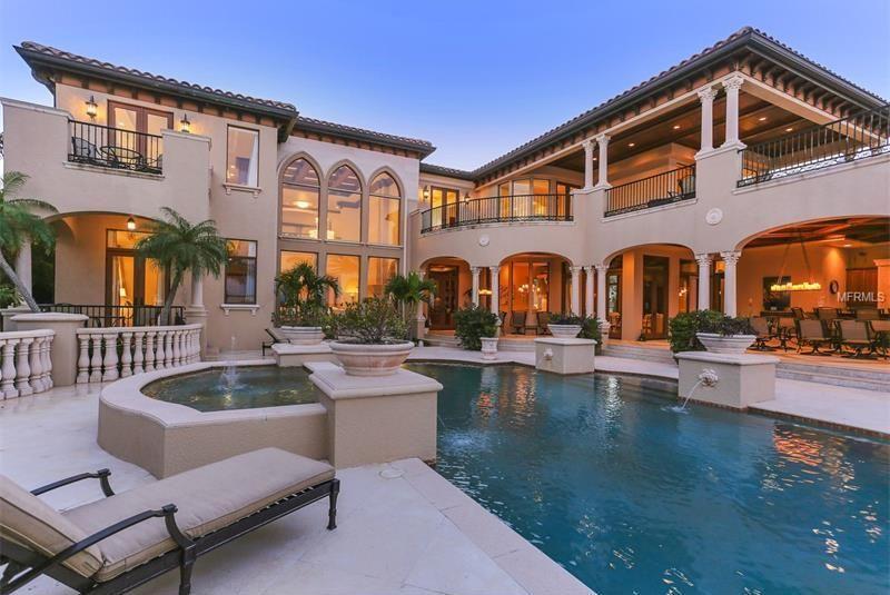 Mediterranean Swimming Pool Luxury Homes Dream Houses Mansions Fancy Houses