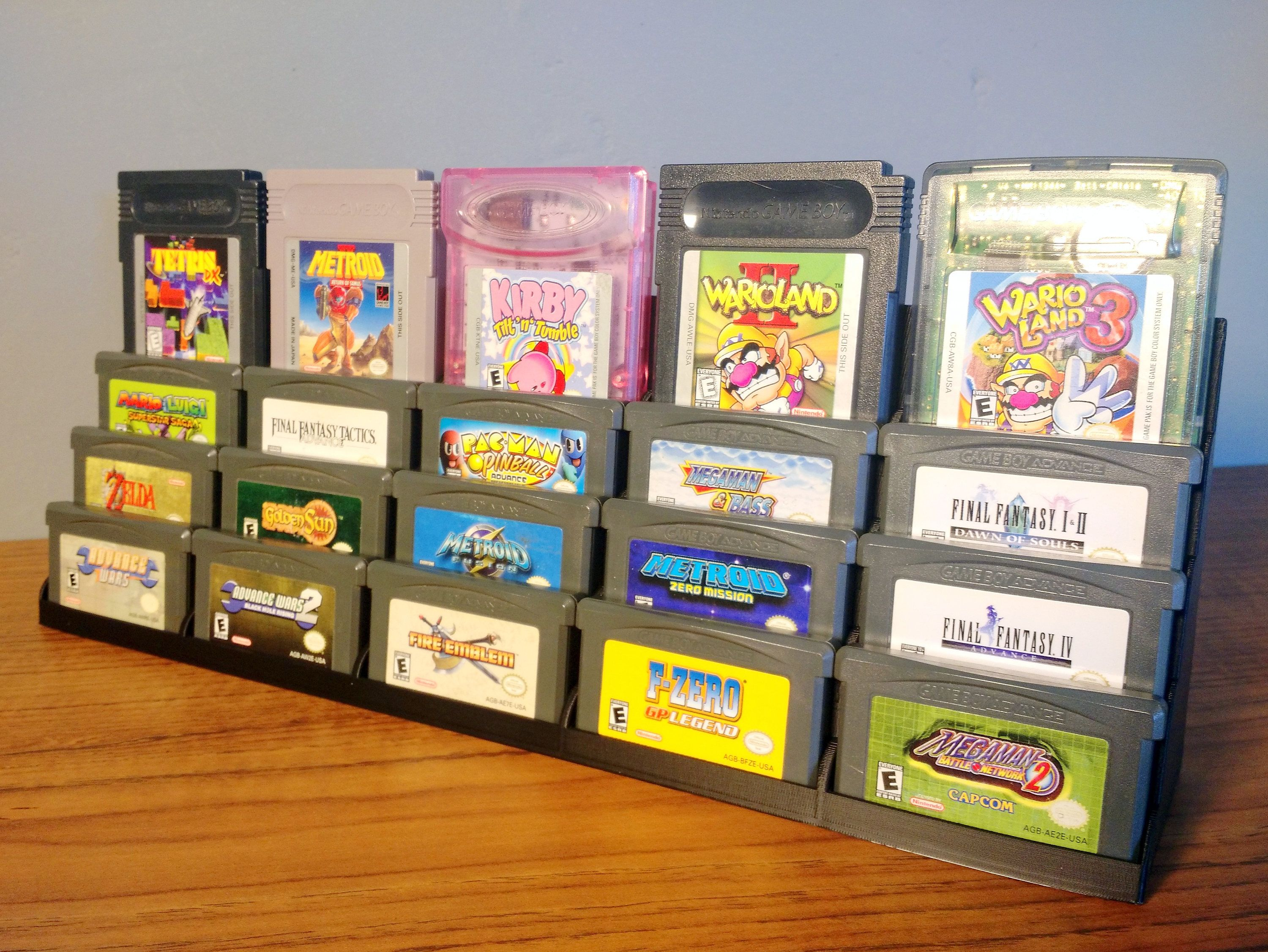 Gameboy Advance Display Beleuchtung Gba Cartridge Display Tower For Nintendo Gameboy Advance