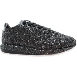 Photo of Ghoud Sneakers Frau G2wlgt38 Woman Low Glitter Black Ghōud Venice