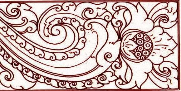 Motif Ragam Hias Majapahit Seni Hiasan Cara Menggambar