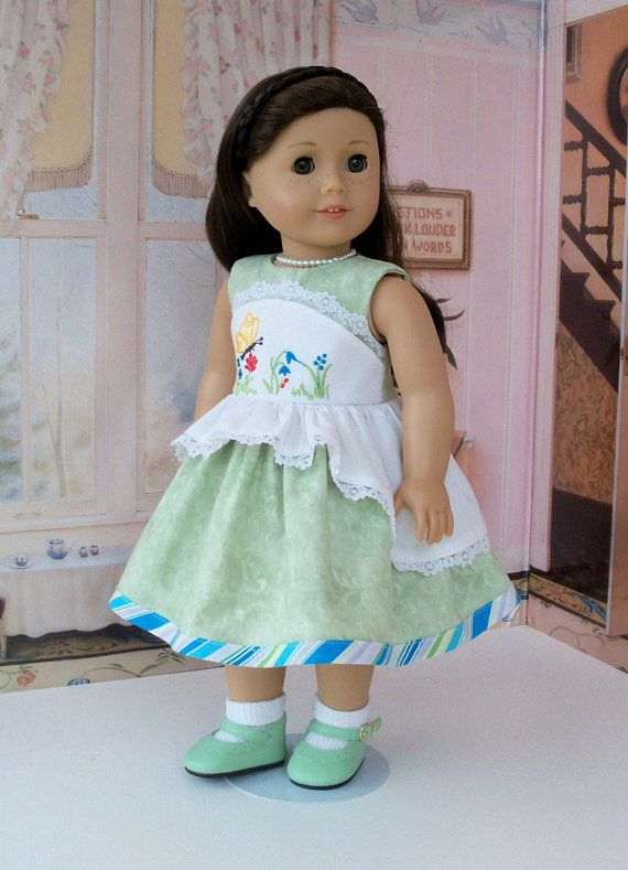 Fits Like 18 Inch American Girl DOLL CLOTHES / Embroidered | Doll ...