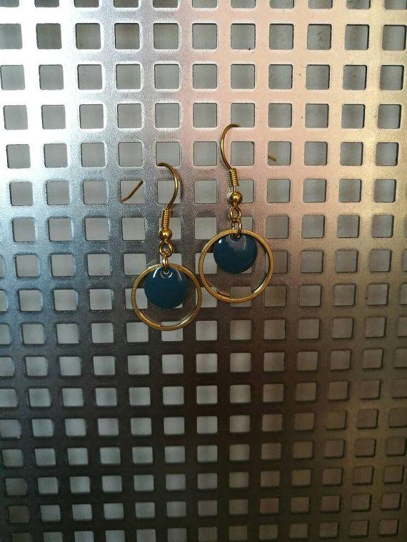 Bekijk dit items in mijn Etsy shop https://www.etsy.com/nl/listing/504812305/geometrische-ronde-oorbellen