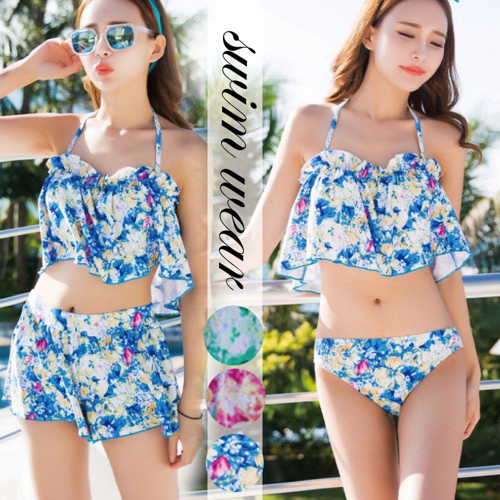 【ファッション通販SHOPLIST(ショップリスト)】夏 新作 水着 ビキニ タンキニ セパレート スイム