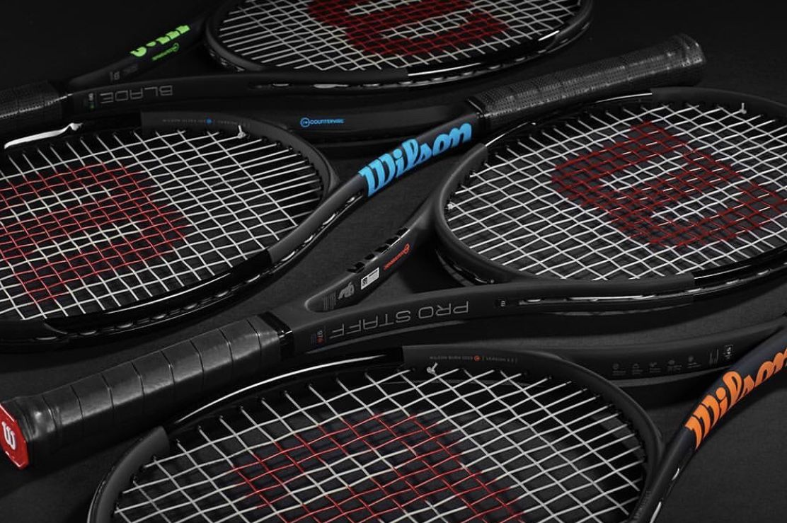 Black Edition a Tennis Rackets from Wilson: Pro Staff, Blade, Ultra and Burn
